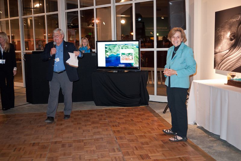Dr. Silvia Earle's 75th birthday celebration at BLUE