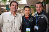 """Didier Noirot, Eric Cheng and Roger Horrocks after the showing of """"Into the Dragon's Lair"""""""
