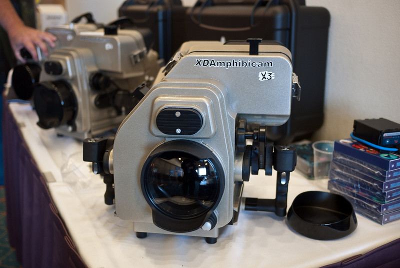 XDAmphibicam X3 underwater housing for Sony PMW-EX3