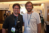 Wetpixel correspondents at BLUE: Jason Bradley and Sterling Zumbrunn