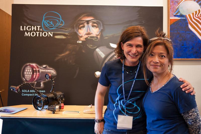 Amy Mack of Light & Motion with Jennifer Penner
