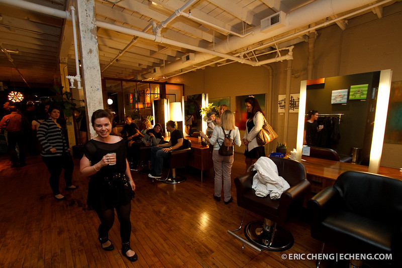 Barber Lounge Spring Art Show 2011