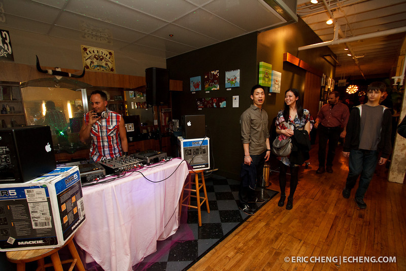 DJ Joseph Lee at Barber Lounge
