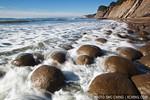 Bowling Ball beach about an hour after low tide (Mendocino coast, California)