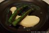 Asparagus, seaweed powder