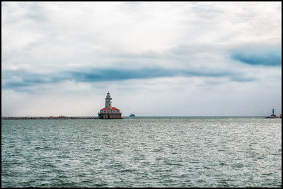 Lake Michigan from Navy Pier