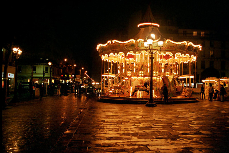paris - carousel