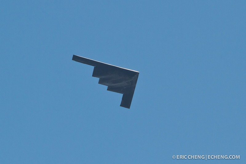 A B-2 stealth bomber. Fleet Week in San Francisco, CA. October 8, 2011.