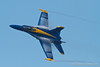 Blue Angels; with contrail. Fleet Week in San Francisco, CA. October 8, 2011.