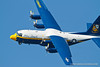 "Blue Angels ""Fat Albert"" C-130 Hercules. Fleet Week in San Francisco, CA. October 8, 2011."