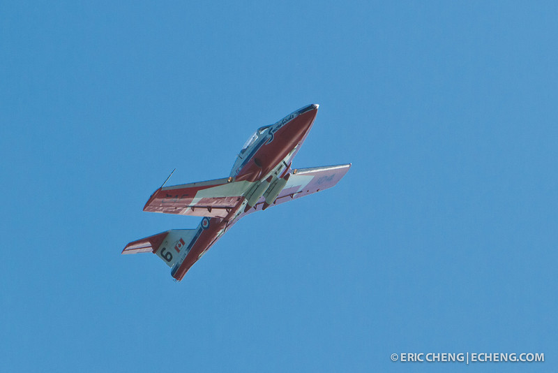 A Snowbird. Fleet Week in San Francisco, CA. October 8, 2011.
