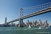 San Francisco Bay Bridge. Fleet Week in San Francisco, CA. October 8, 2011.