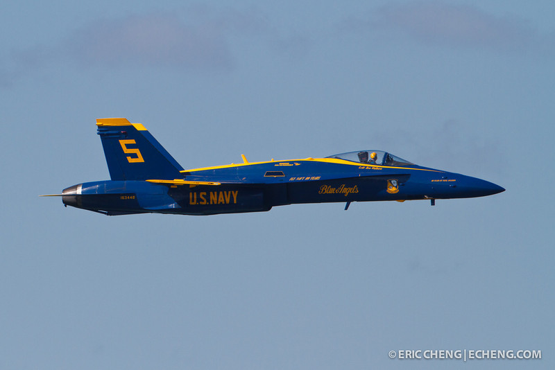 Lcdr Ben Walborn. Blue Angel 5. Fleet Week in San Francisco, CA. October 8, 2011.