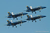 Blue Angels with landing gear down. Fleet Week in San Francisco, CA. October 8, 2011.