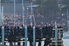 Huge crowds at Fleet Week in San Francisco, CA. October 8, 2011.