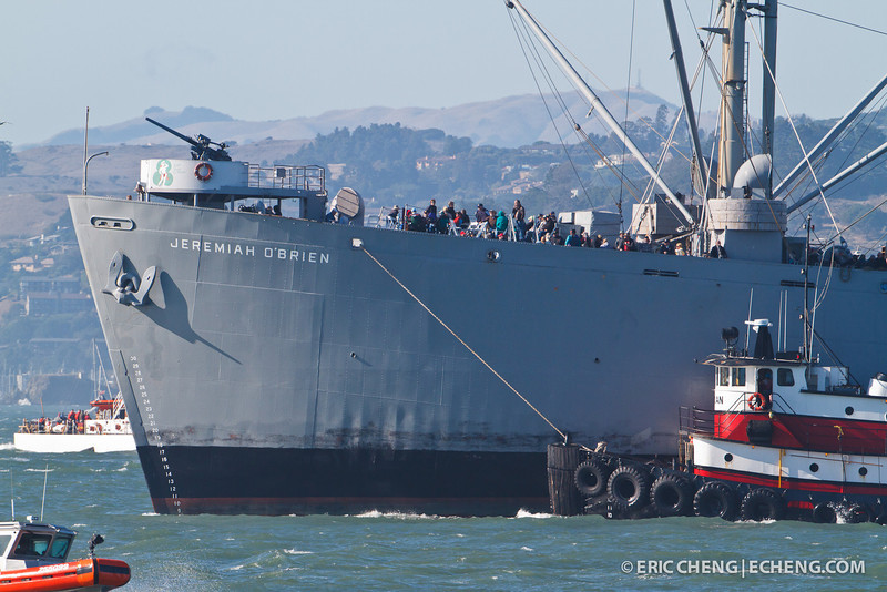 The Jeremiah O'Brien. Fleet Week in San Francisco, CA. October 8, 2011.