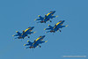 Blue Angels with landing gear down. Fleet Week in San Francisco, CA. October 8, 2011.
