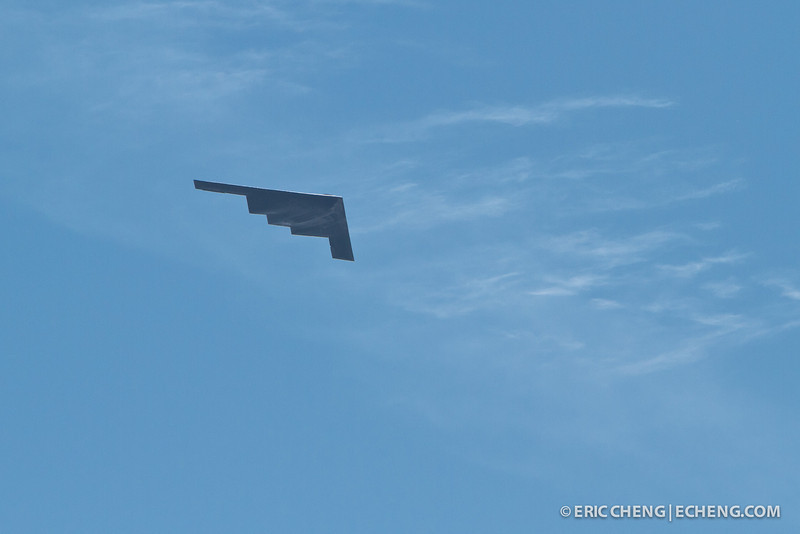A B-2 stealth bomber. Fleet Week in San Francisco, CA. October 8, 2011.