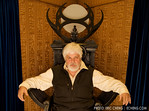 Lord Paul Watson in Ba'al's throne
