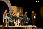 Panel session with Stargate actors: Cliff Simon, Andee Frizzell, Corin Nemec, and Steve Bacic