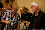 Paul Brown hangs out with Kim McCoy and Captain Paul Watson at the Gatecon auction
