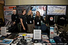 Paula, Amie, Kim, and Kristine at the Sea Shepherd booth, Gatecon 2008