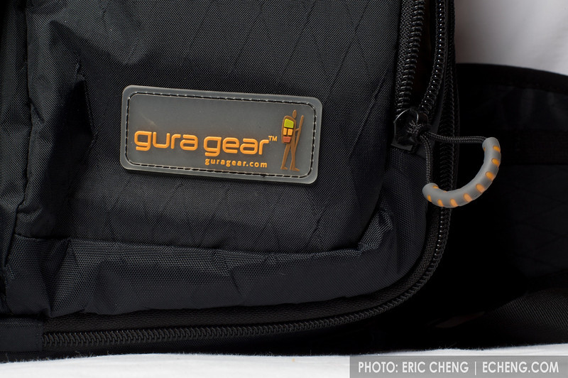 Gura Gear Kiboko bag, logo detail