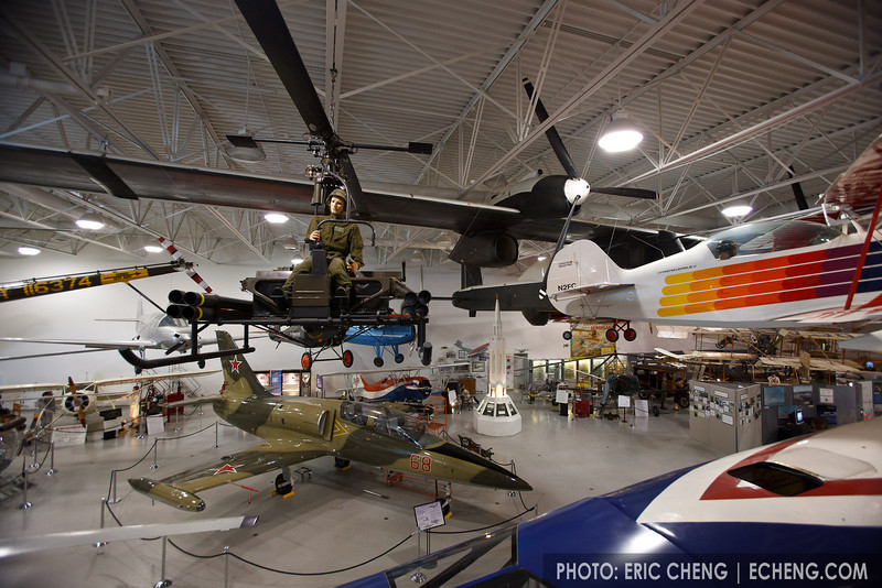 Hiller Aviation Museum in San Carlos, CA