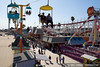 Chairlift skyway ride at the Santa Cruz Boardwalk