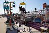 Chairlift skyway ride at the Santa Cruz Boardwalk