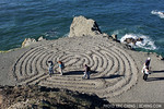 A maze created by the feet of creative hikers, San Francisco