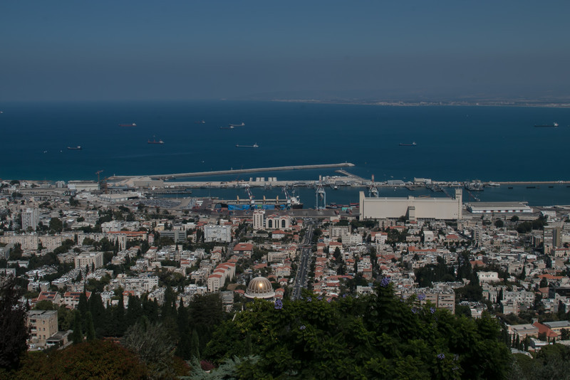 Haifa and the Baha'i temple