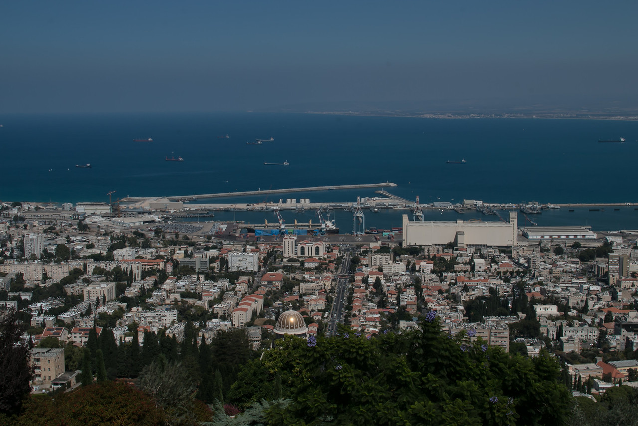 Haifa and the Baha'i temple