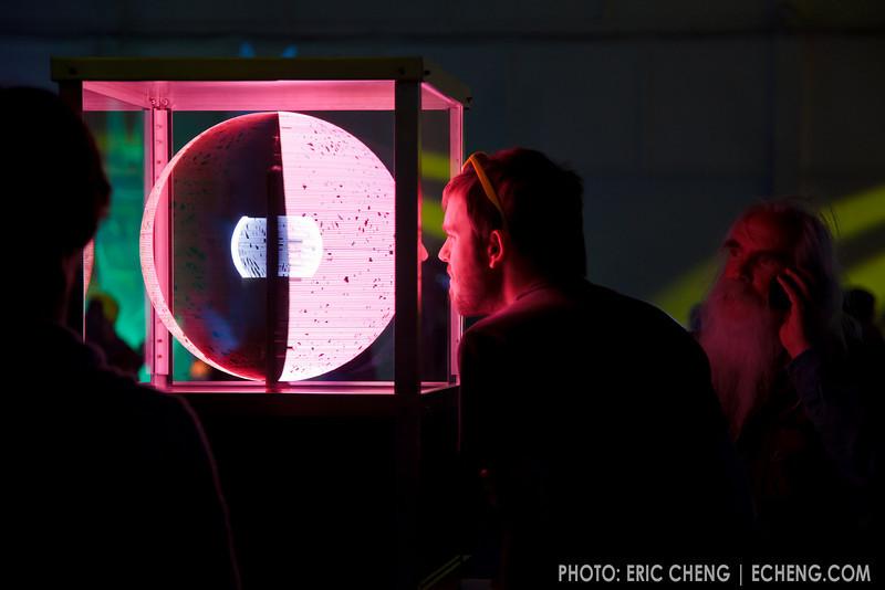 Spherical display surface