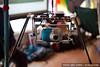 Camera platform for aerial kite photography