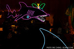 Neon shark