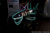 Neon shark!