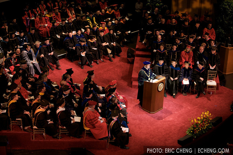 USC Ph.D hooding ceremony