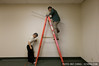 For labor, I recommend using Taiwanese senior citizens (that's my dad up there on the ladder!)