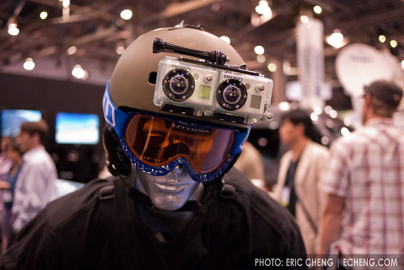 GoPro's prototype waterproof 3D housing, due out later this year