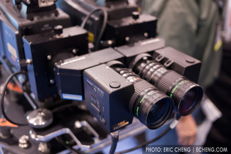 Fujinon lenses with mirrors reduce IO distance