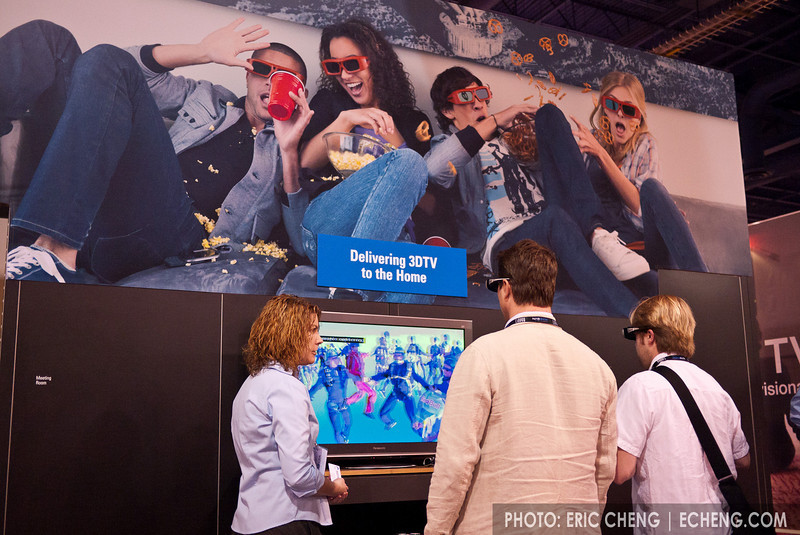 The clear theme of NAB 2010: 3DTV