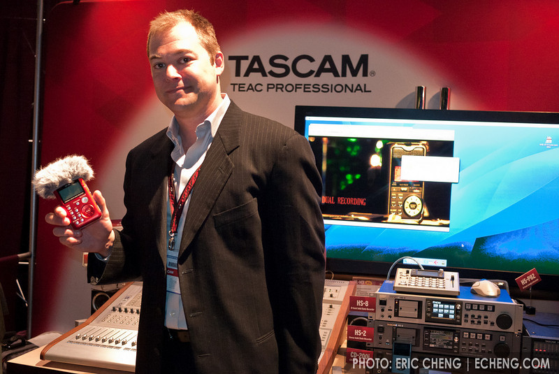 Jeff Laity, diver, underwater photographer, and Tascam guy