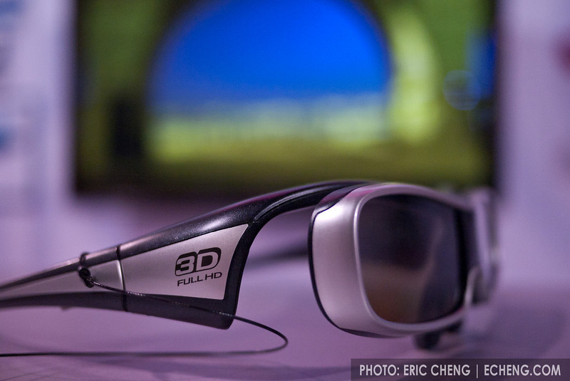 Panasonic's active 3D glasses