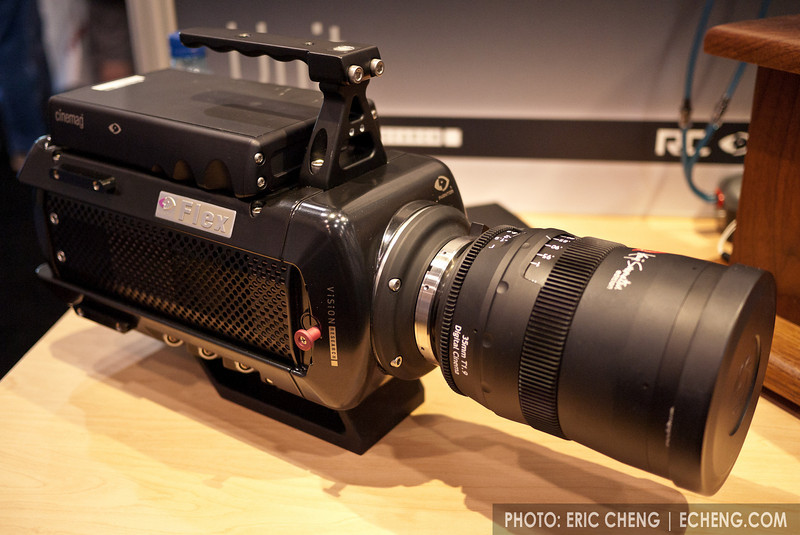 The new Phantom Flex camera, by Vision Research, shoots full HD at 5-2800 fps