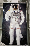 Poster of an astronaut, signed by astronauts (NASA Neutral Buoyancy Lab)