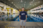 Hanging out at the NASA Neutral Buoyancy Lab (photo: Joe Holley)