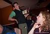 Jeff Honda serves us drinks