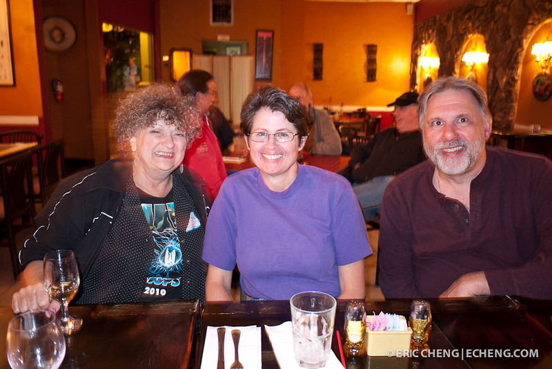 Patti Baugh, Kathy Mendes and Randy Herz