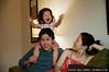 Peter, Karine, and Ella Kim, back in New York